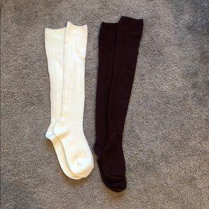 Bundle of high knee socks